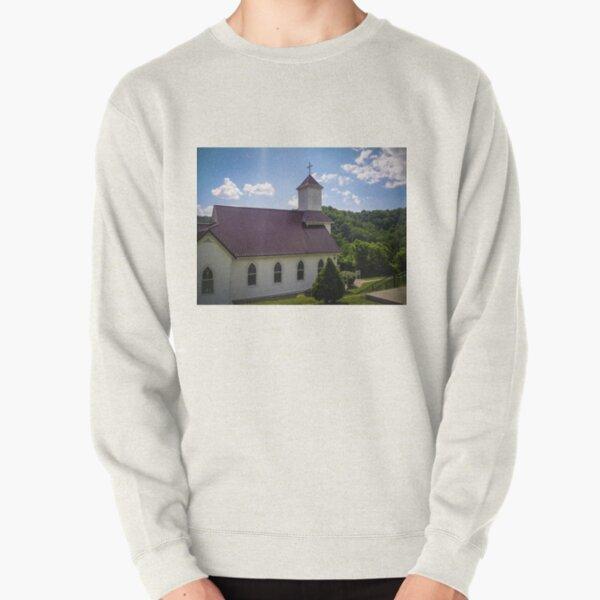 Higher Than Mountains Pullover Sweatshirt