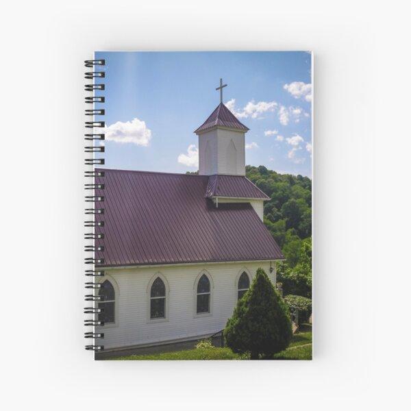 Higher Than Mountains Spiral Notebook