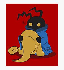 Black Heartless Photographic Print