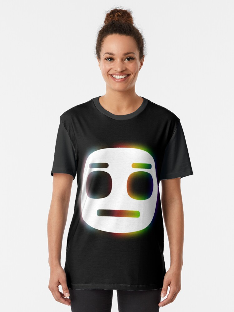 Alternate view of LGBTQA+ Face design Graphic T-Shirt