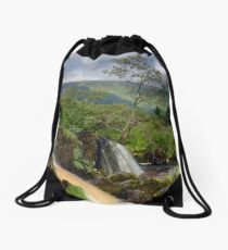 The Loup Of Fintry Drawstring Bag