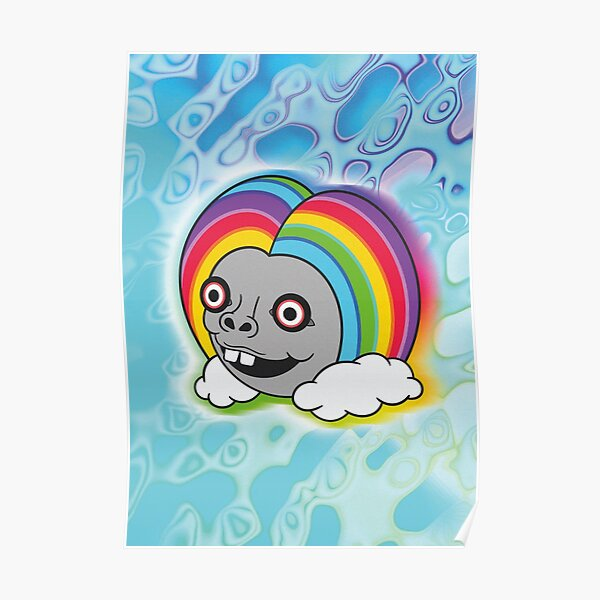 Rainbow Dude Poster