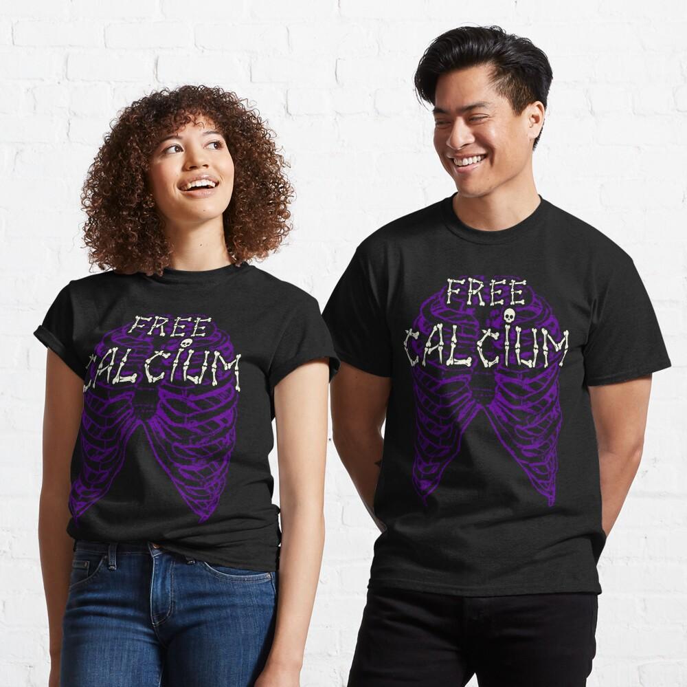 Free Calcium - Funny Ribcage Classic T-Shirt
