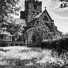 Carlisle Cathedral - B&W by Tom Gomez