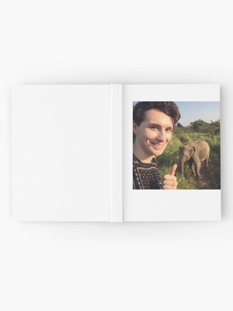Alternative Ansicht von Safari Dan Elefant Notizbuch