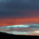 Sunset in Peebles by rosie320d