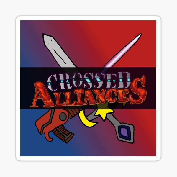 Crossed Alliances Logo Sticker