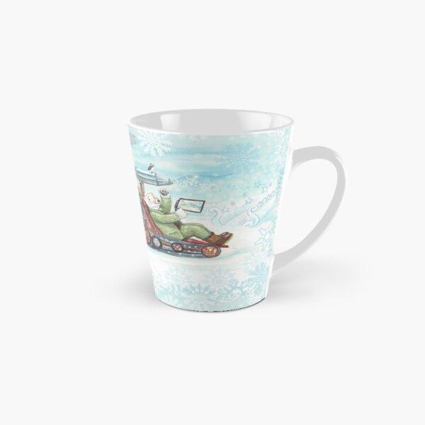 Leonardo's Ice Making Machine Christmas Cards Tall Mug