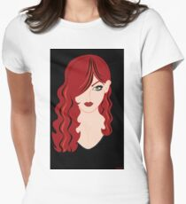 Red Haired Woman T-Shirt