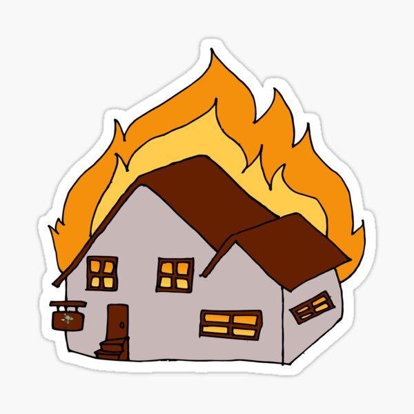 Burning Tavern Games Logo Sticker