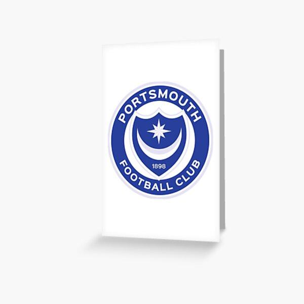 Portsmouth FC logo Greeting Card