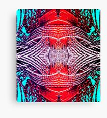 Red Crystal Canvas Print