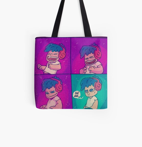 Face it! All Over Print Tote Bag