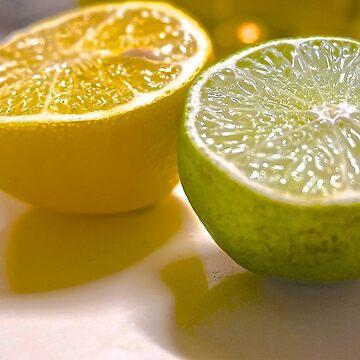 Citrus Lemon/Lime Close Work by cElsiePics