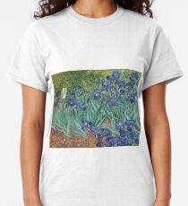 Irises (Vincent Van Gogh) Classic T-Shirt