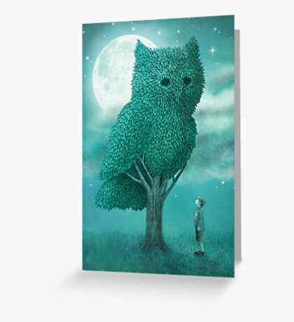 The Night Gardener - Cover Greeting Card