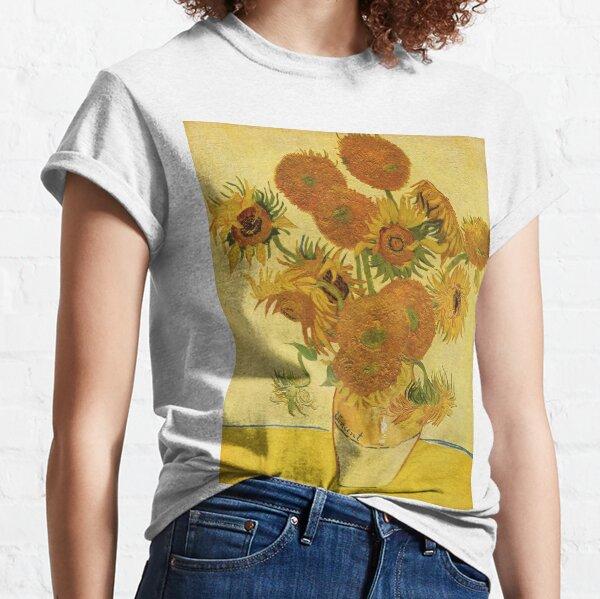 Sunflowers (Vincent Van Gogh) Classic T-Shirt