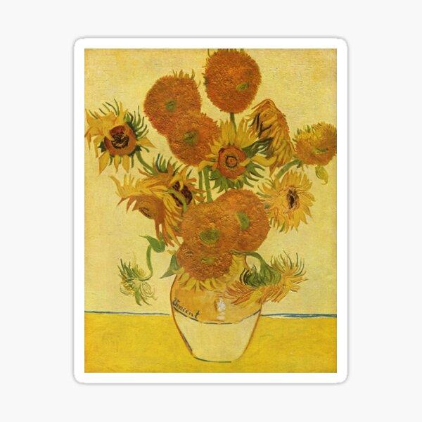 Sunflowers (Vincent Van Gogh) Sticker