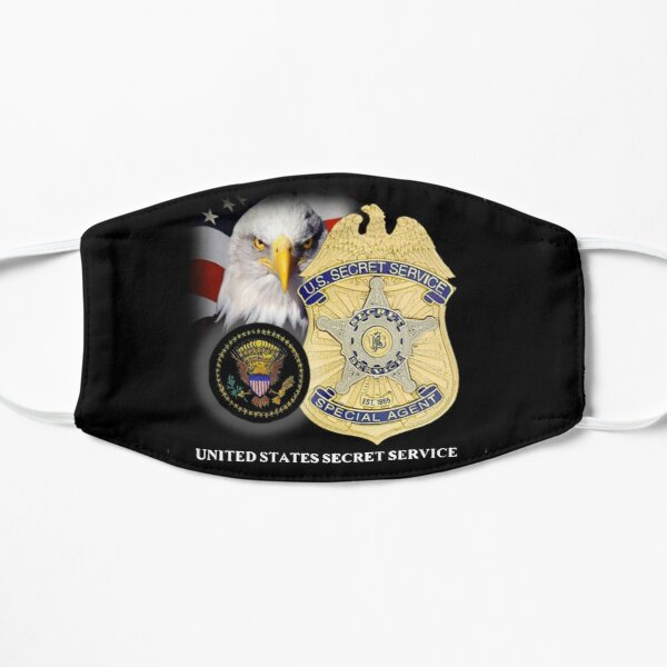 UNITED STATES SECRET SERVICE Flat Mask