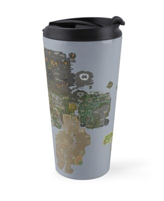Runescape 2015 world map travel mugs by mlgdoge420 redbubble runescape 2015 world map sciox Image collections