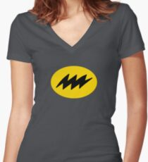 Bat-mite Women's Fitted V-Neck T-Shirt