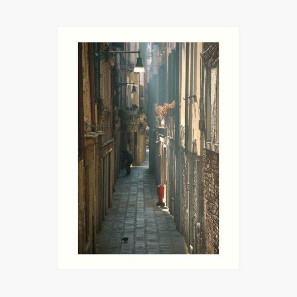 """"""" La calle """" - Venice Art Print"""