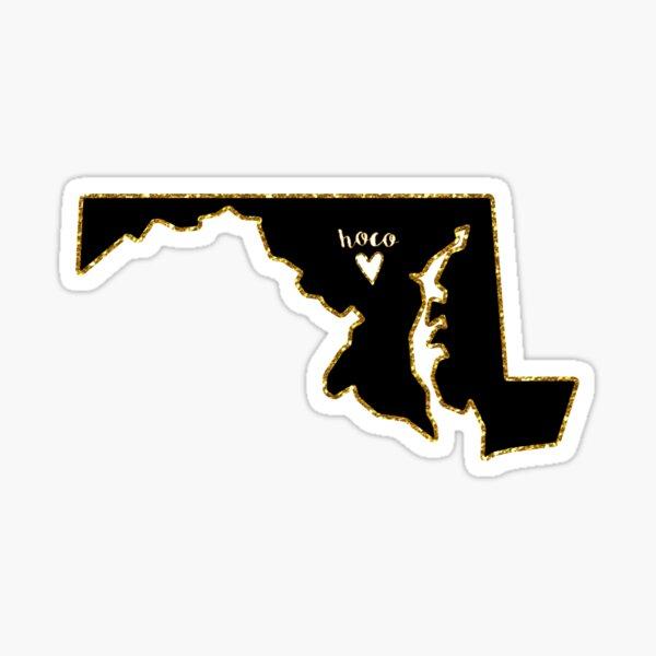 Howard County, Maryland Sticker