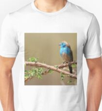 Blue Waxbill - Colorful Wild Birds from Africa - Beautiful Bliss Unisex T-Shirt