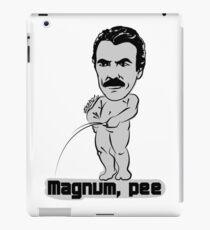 Magnum pee iPad Case/Skin
