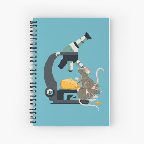Micro Mouse 'n Cheese Spiral Notebook