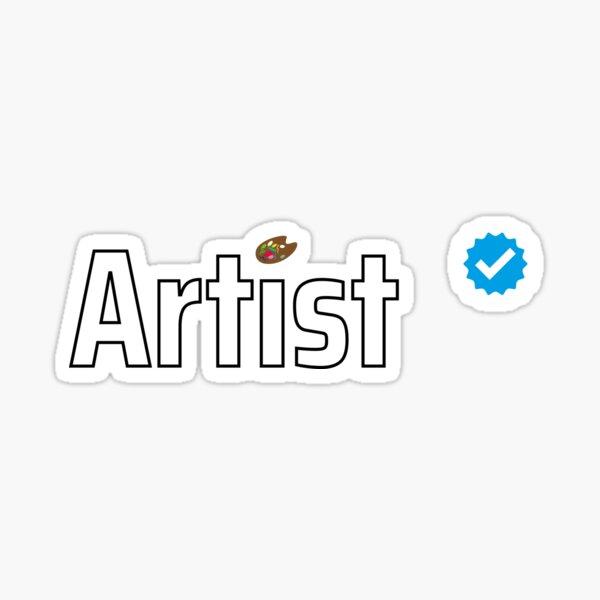 Verified Artist Sticker