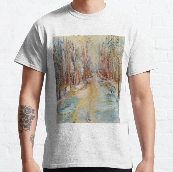 ATV Trail Through The hardwoods Classic T-Shirt