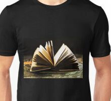 Open Book -Pages- Unisex T-Shirt