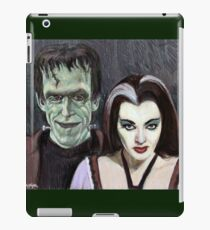 Lily and Herman Munster iPad Case/Skin