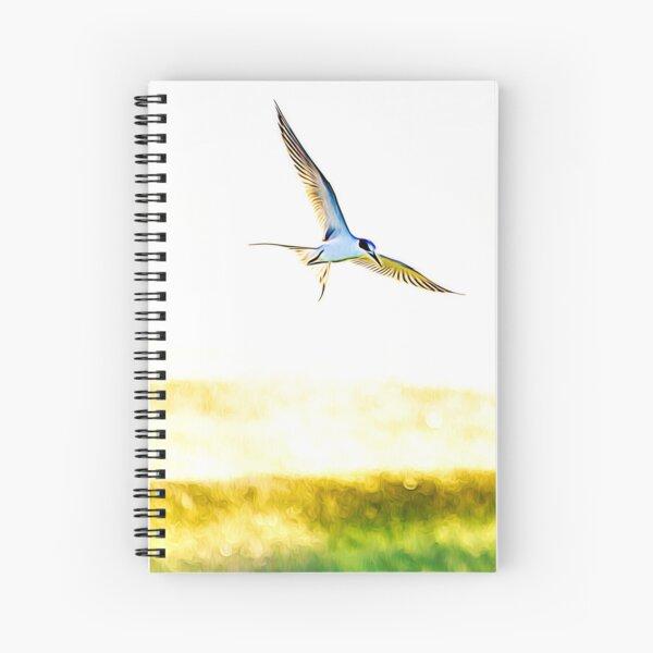 Soaring Tern Spiral Notebook
