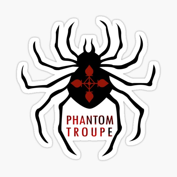 Phantom Troup Spider Sticker