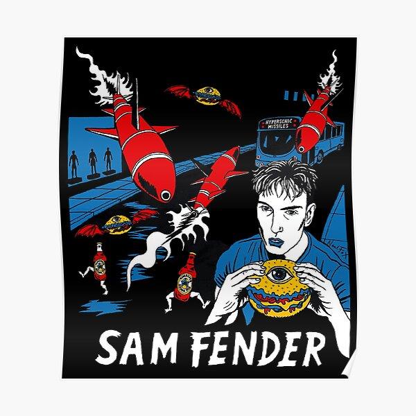 New Sam Fender - HYPERSONIC Apparel For Fans Poster