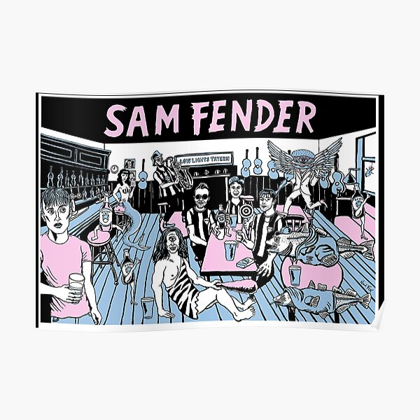 New Sam Fender - Lowlights Print - (Limited Edition) Apparel For Fans Poster