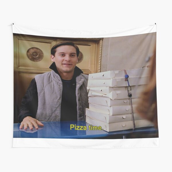 Pizza Time Tapestry