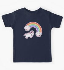 Cute Cupcake Unicorn Kids Tee