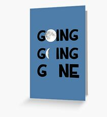 Going, Going, Gone Greeting Card