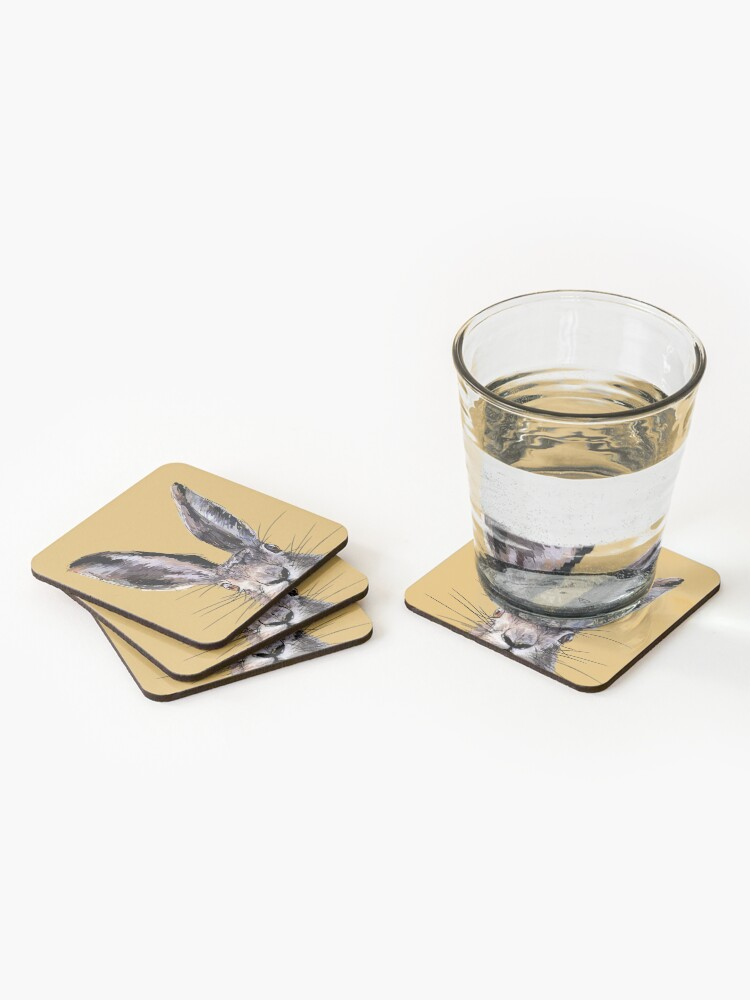Alternate view of Hop on up. Coasters (Set of 4)