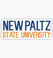 New Paltz State University Sticker