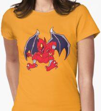 Fiery Gargoyle Womens Fitted T-Shirt