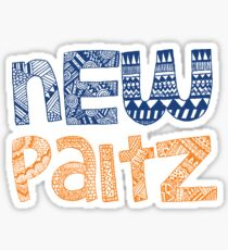 New Paltz - HANDRAWN Sticker