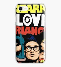 Butcher Billy's Bizarre Love Triangle: The Post-Punk Edition iPhone Case/Skin