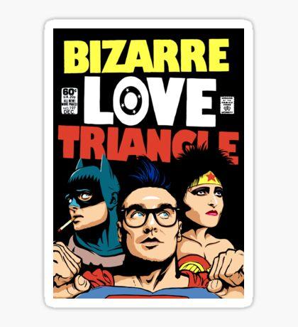 Butcher Billy's Bizarre Love Triangle: The Post-Punk Edition Sticker