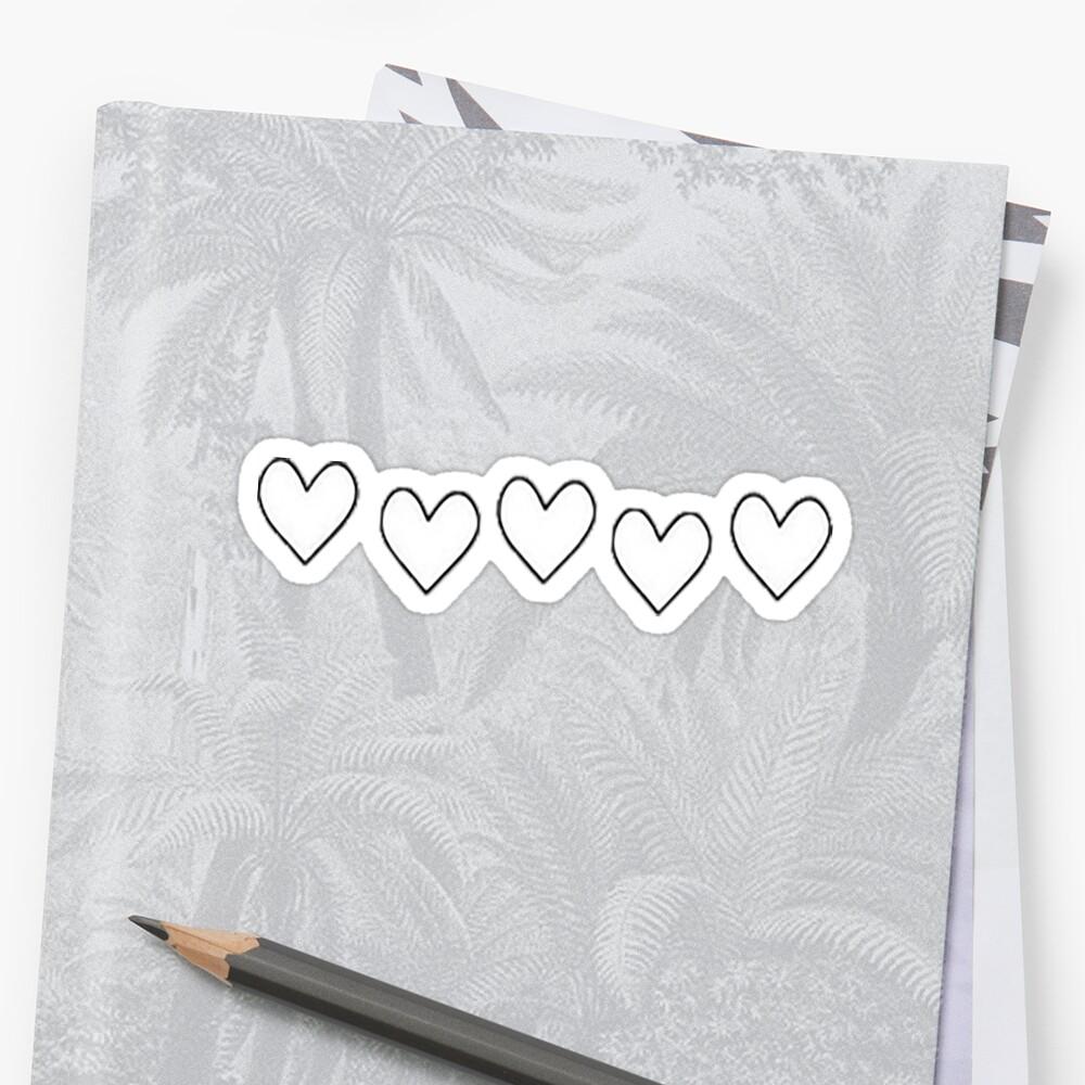 «Corazones de amor» de strangdesigns