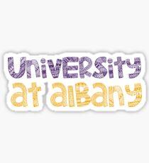University at Albany - HANDDRAWN Sticker