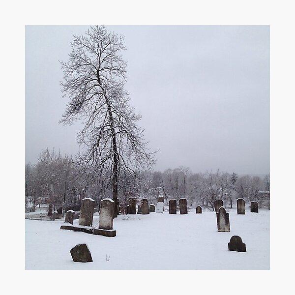 Bleak Mid-Winter Photographic Print